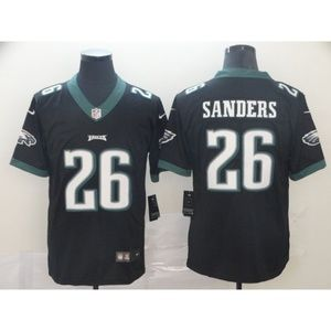 Philadelphia Eagles Miles Sanders Black Jersey